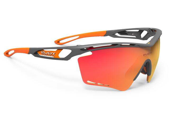 Rudy Project Tralyx XL Cykelbriller grå/orange (2019)   Briller